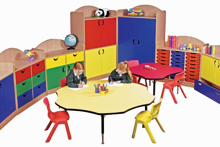 Classroom Furnitures : Educational furniture interior smart commercial design